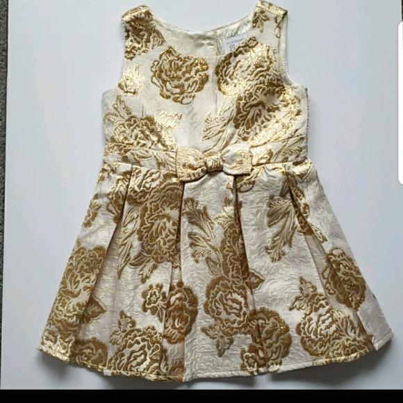 The Children's Place Metallic dress, 4T
